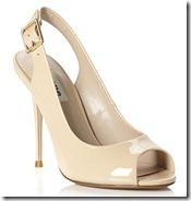 Patent Slingback Sandal