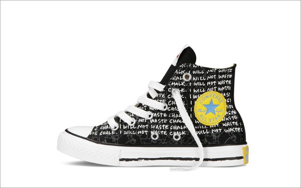Simpsons Sneakers converse 5