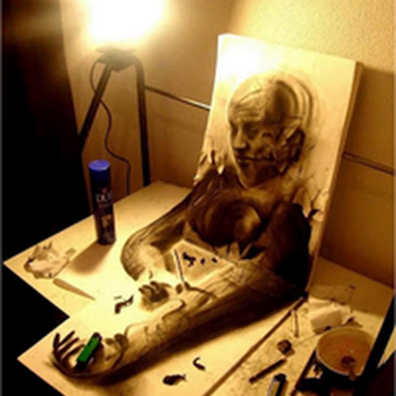 Extraordinarias imágenes de dibujos hiper realistas en 3D