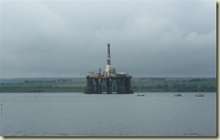 Oil Rig in the Cromartie Furth (Small)