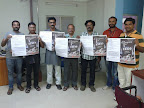 Film Telangana 2013 Poster release with media partner Deccan TV team