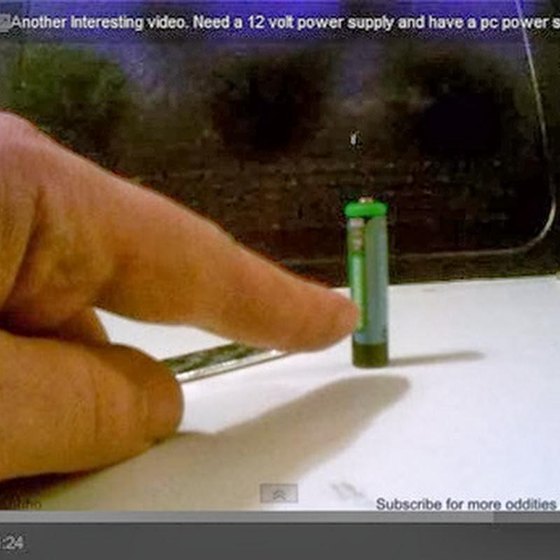 Πως να φτιάξετε αναπτήρα από μια τσίχλα