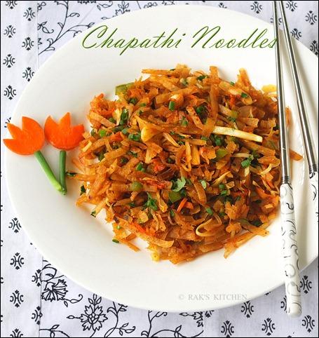 chapati noodles