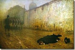 7 décembre 1815, l'exécution du maréchal Ney par Gérôme