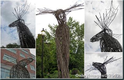 NH moose collage