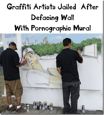 graffati artists jailed