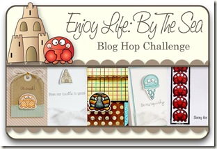 Blog Hop Graphic - Enjoy Life by the Sea