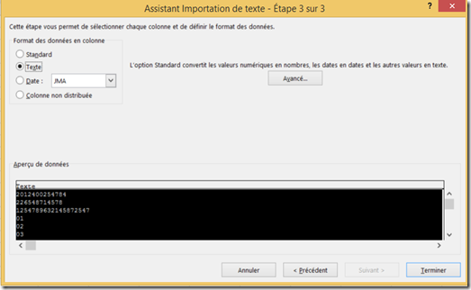 office and power bi  excel  forcer le format d u0026 39 origine des donn u00e9es d u0026 39 un fichier csv