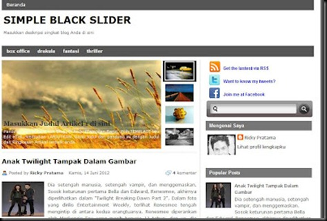 Download Template Blogger Blogspot SEO Friendly Gratis