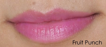 Annabelle Lipsies Fruity Lip Balm Swatches