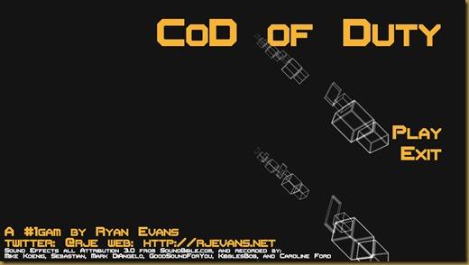 CoD of Dutyタイトル