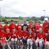 U10 group at West of Ireland Tennis Tournament