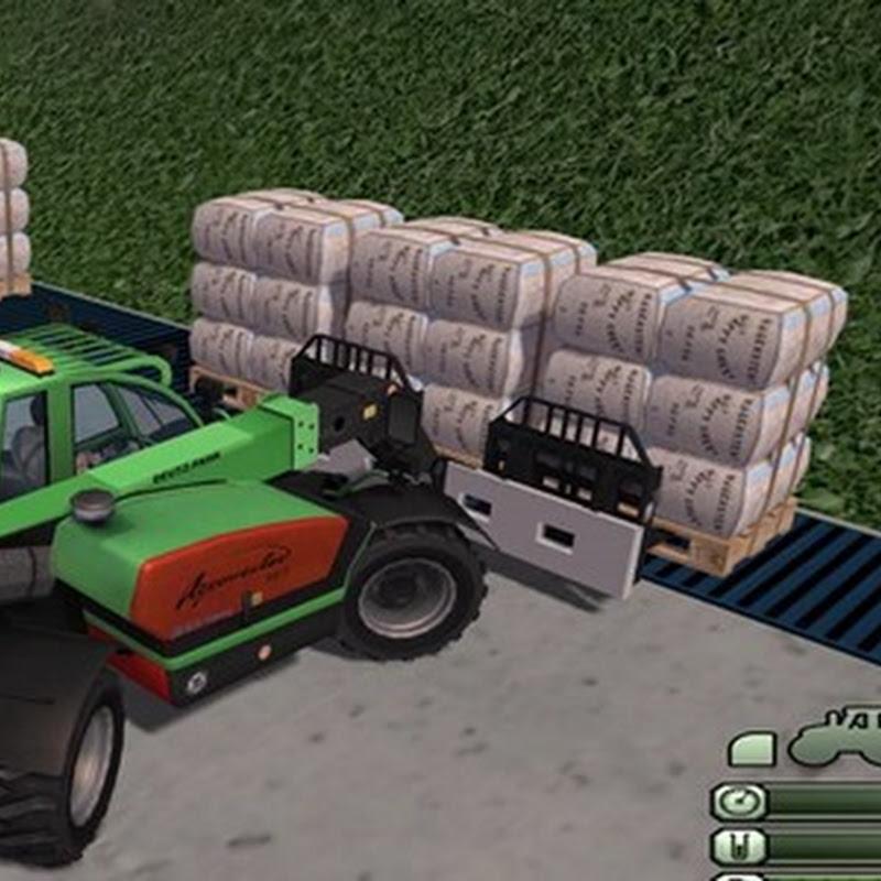 Farming simulator 2013 - Agrovector double pallet forks v 1.0