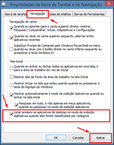 """Configurando o botão """"iniciar"""" do Windows 8.1 - Visual Dicas"""