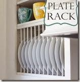 DIY-Plate Rack by Remodelando la Casa
