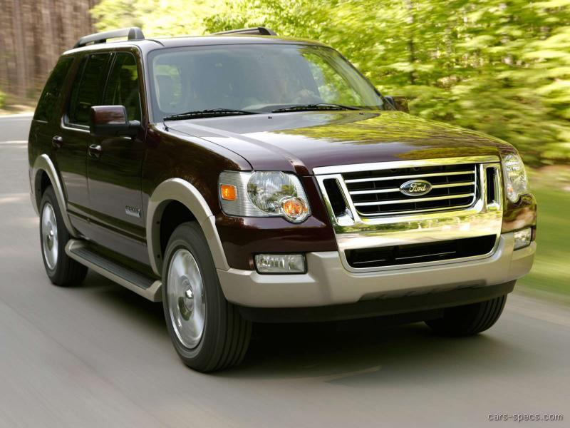 2006 ford explorer suv specifications pictures prices. Black Bedroom Furniture Sets. Home Design Ideas
