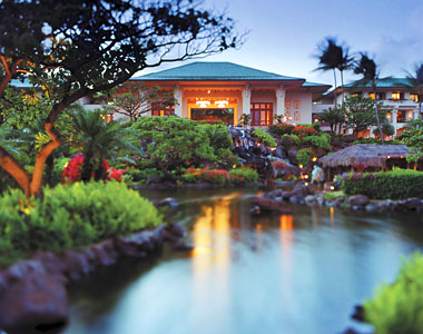 Splurge: Grand Hyatt Kauai Resort and Spa, in Kauai