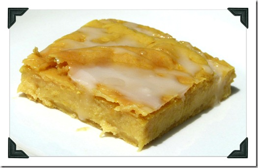 slice lemon bar