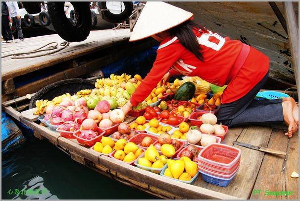 水上买卖水果