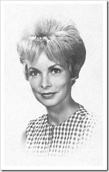 Photograph from Janet Leigh Curtis's 1961 Brazilian immigration card