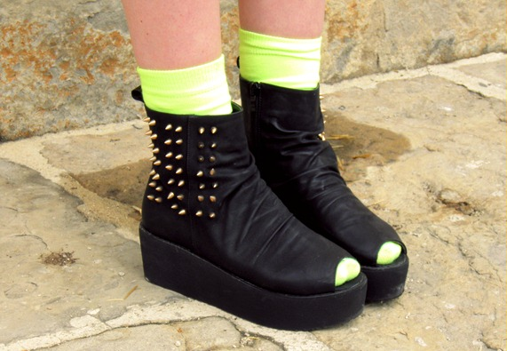 OASAP spiked boots