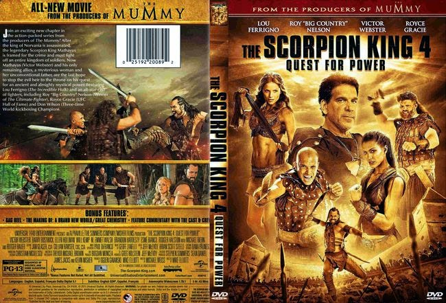 The Scorpion King 4: Quest for Power – Latino