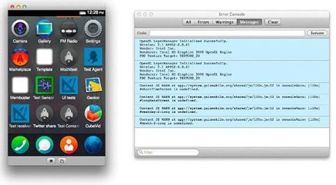 Simulador Firefox OS 3.0