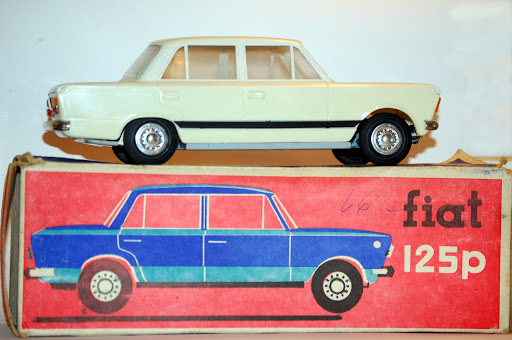 CZZ Toys Poland Fiat 125 p , probably from the 1980 ties.