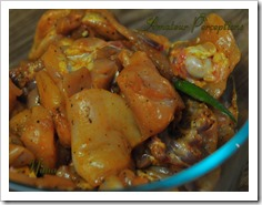 Kerala Chicken Curry 0