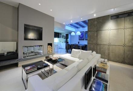 Departamento con estilo minimalista que incorpora for Decoracion de departamentos minimalistas