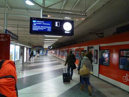 Gara din aeroportul Munchen