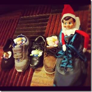 Elf on the Shelf - Shoe Beds
