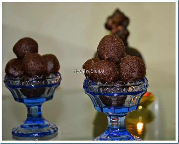Rich, fragrant Ragi Laddus