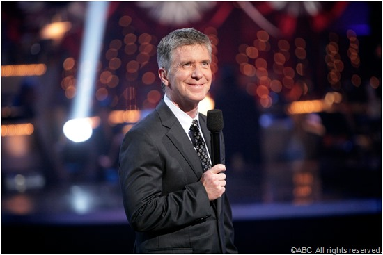 DWTS host Tom Bergeron.