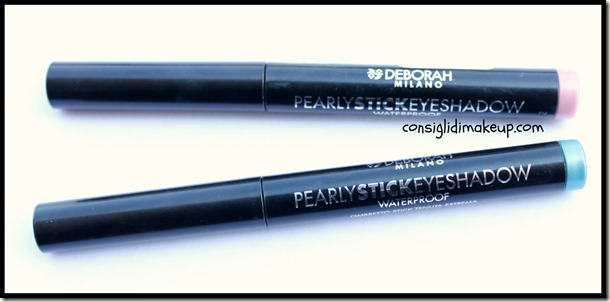 4 Hands Review #10 – Deborah pearly stick eyeshadow 03, 04, 06 e 07