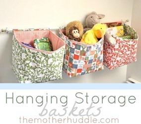 hanging storage baskets tutorial[6]