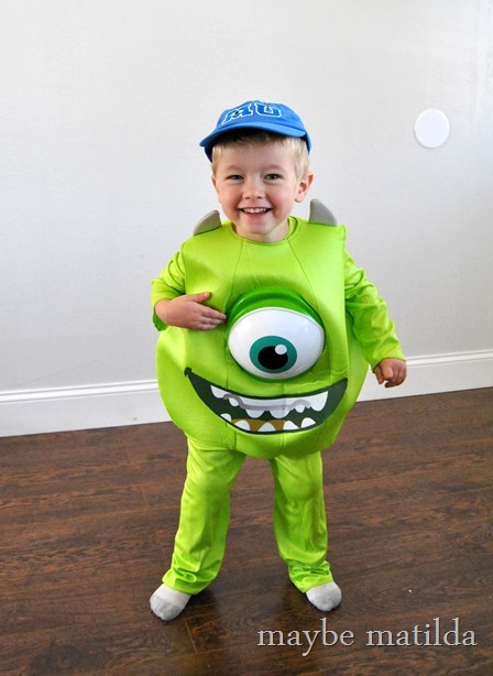 Adorable little Mike from Monster's University!