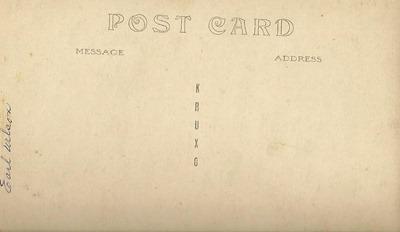 Earl Wilson Postcard DL Flea Market back