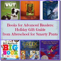 Recommendations for Advanced Readers: Afterschool for Smarty Pants