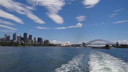 Imagini Sydney: Ferry catre Manly