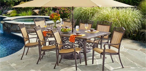 Outdoor Cast Aluminum Patio Furniture