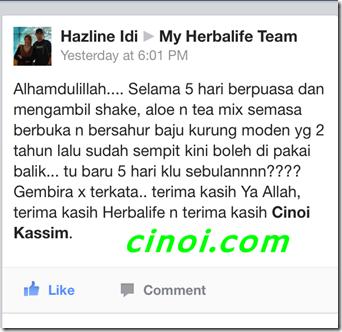 herbalife july testimoni 5