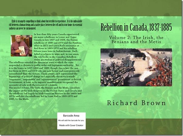 Rebellion in Canada Volume 2