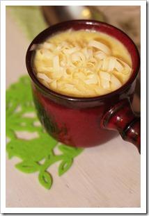 Przy Dużym Stole: najszybsza zupa-krem - fasolowa z kukurydzą i tartym serem