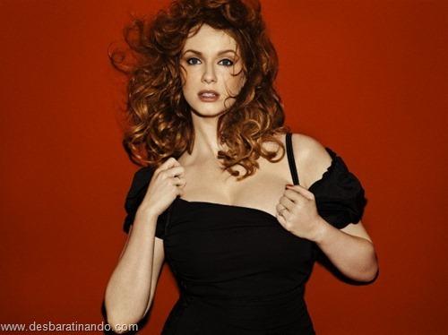 Christina Hendricks linda sensual sexy sedutora decote peito desbaratinando (48)