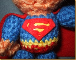 amigurumi superman