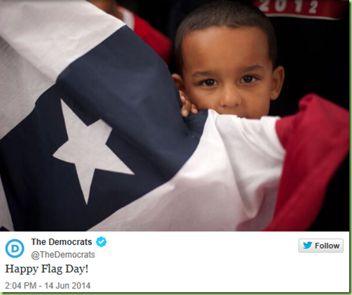 dems idea of a flag