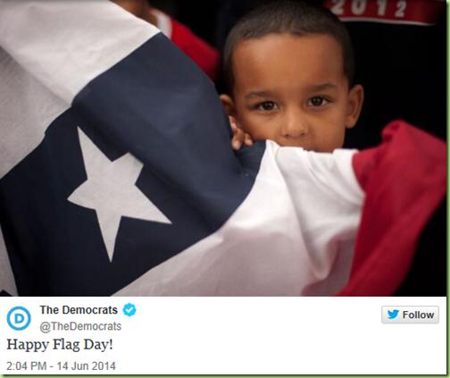 dems idea of a flag