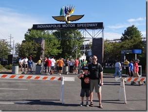 Osian & Simon at Indianapolis Speedway