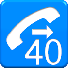 Phone for over 40 icon